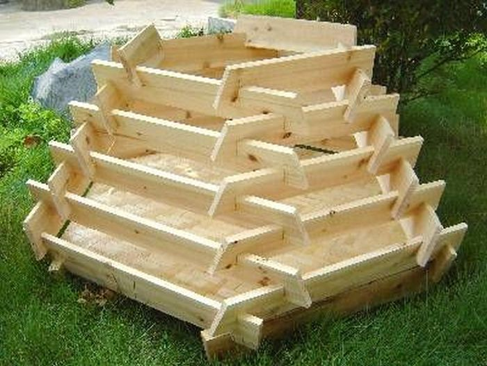 Delicieux How To Make A Slot Together Pyramid Planter