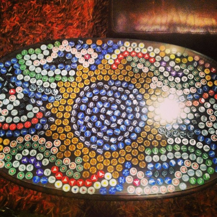Diy Bottle Cap Table Diy Projects For Everyone