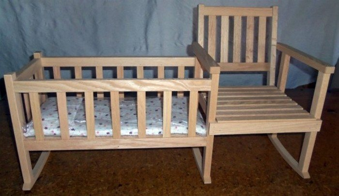How To Build A Rocking Chair With Crib  DIY projects for everyone!