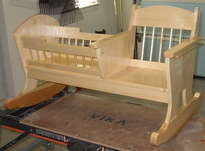 How To Build A Rocking Chair With Crib Diy Projects For