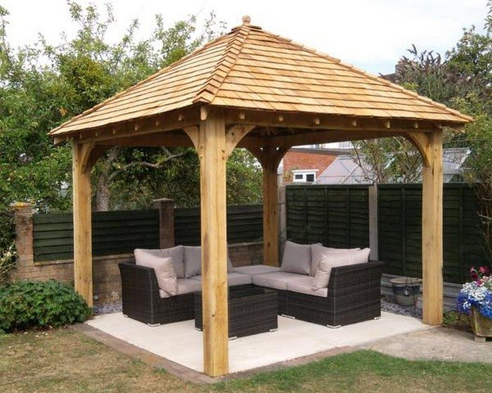 How to build a gazebo diy projects for everyone for Average cost to build a pavilion