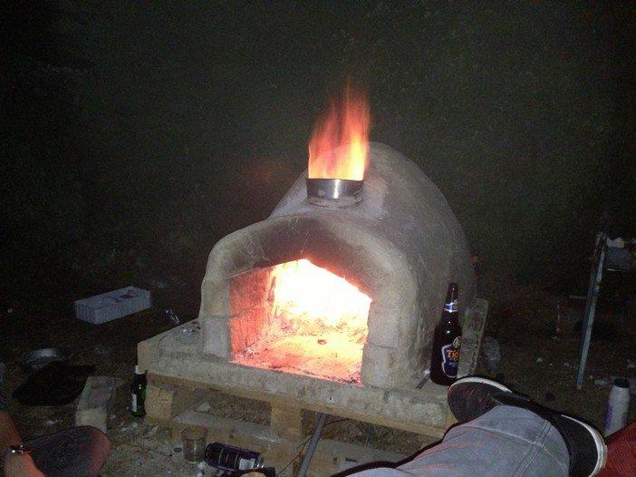 DIY Outdoor Pizza Oven