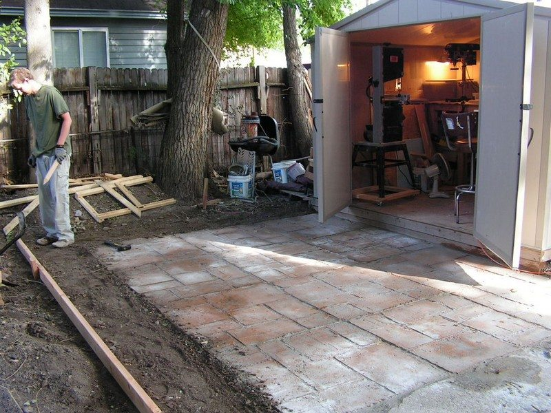 Do It Yourself Cement Patio Diy Projects For Everyone