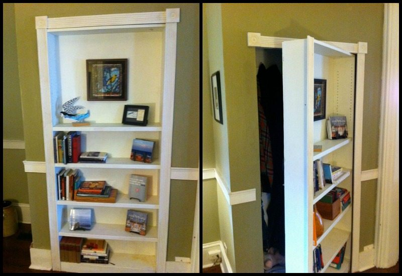 how make to s bookshelf that door thats a home secret also plans giphy bookcase