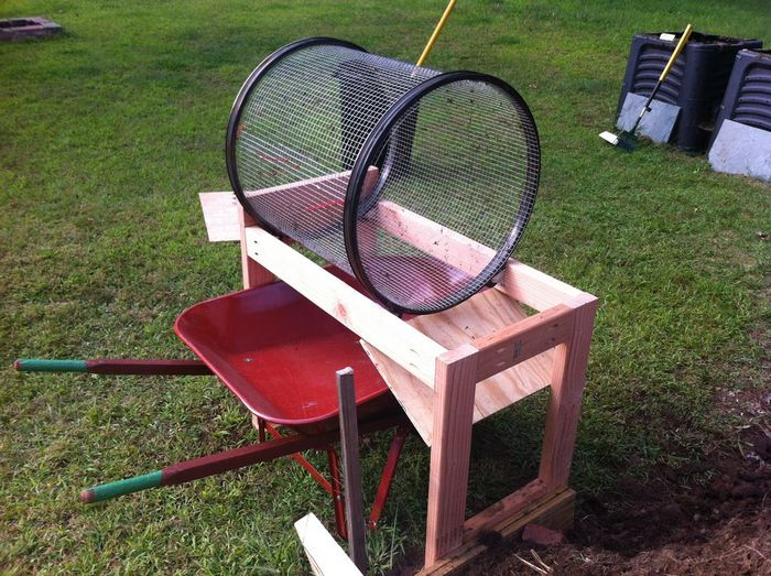 The Average Gardener Or Diyer Doesn T Need A Full Size Motorized Sifter This Is Great Alternative As It Smaller Easy To Build And Affordable