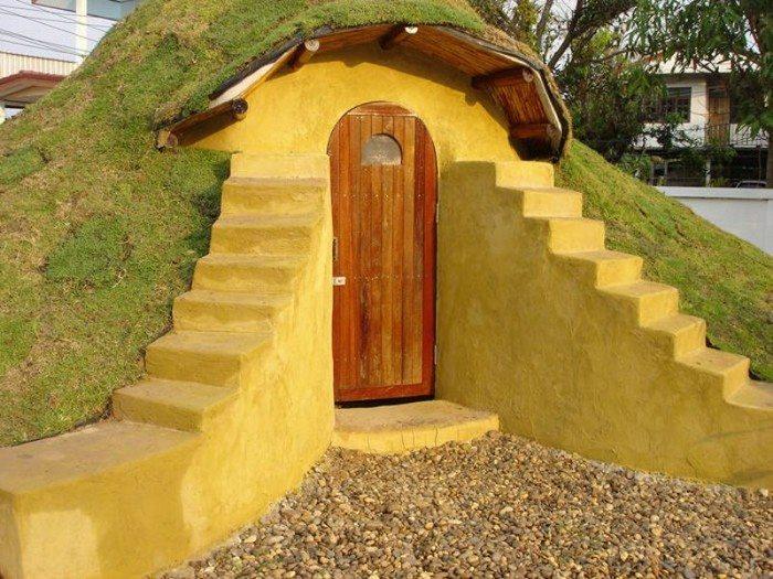 DIY Earthbag Dome Home Samples