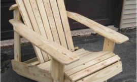 Recycled Pallets Turned Into An Adirondack Chair