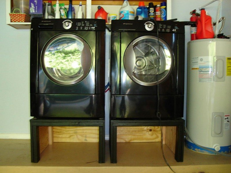 Washing Machine And Dryer Pedestal Diy Projects For