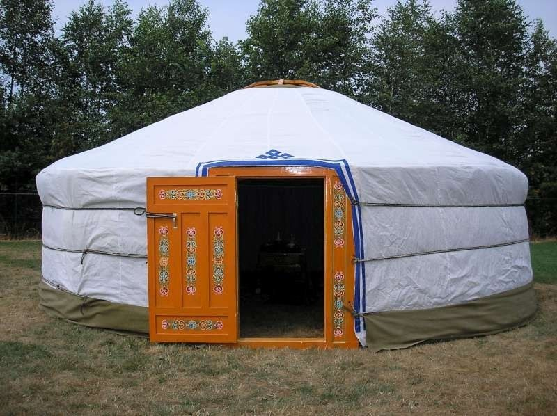 How to build your own mongolian yurt