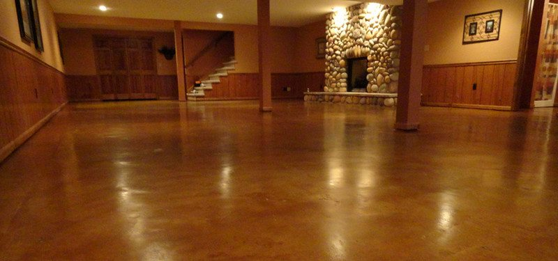 How To Prepare Stain And Seal Any Concrete Floor In Six