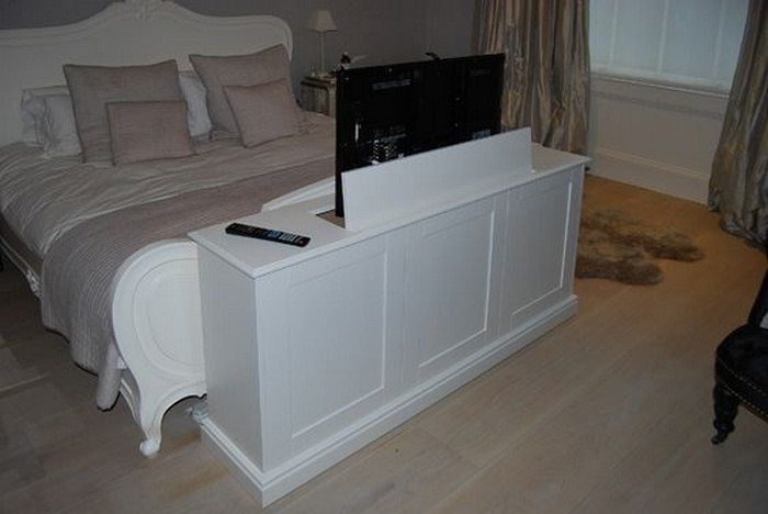 diy tv lift cabinet diy projects for everyone. Black Bedroom Furniture Sets. Home Design Ideas