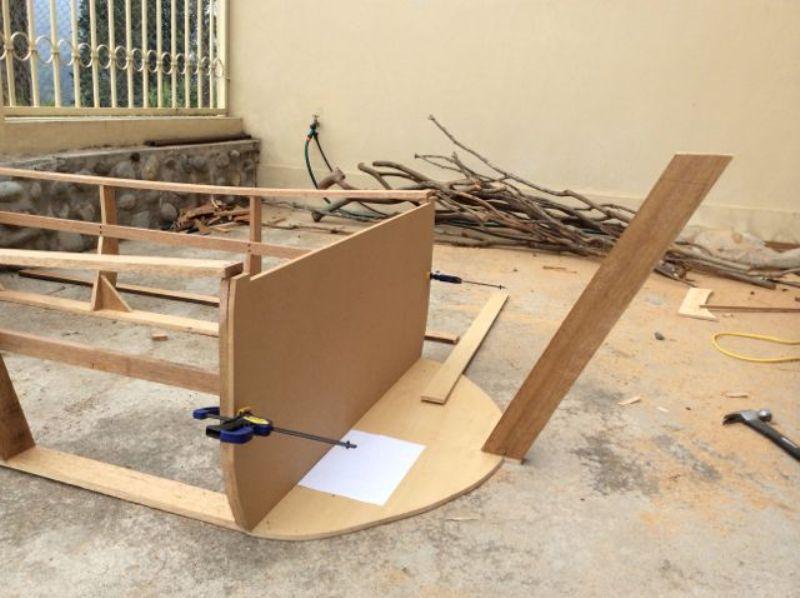 DIY Boat Bed