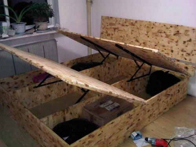 Lift Top Storage Bed Diy Projects For Everyone