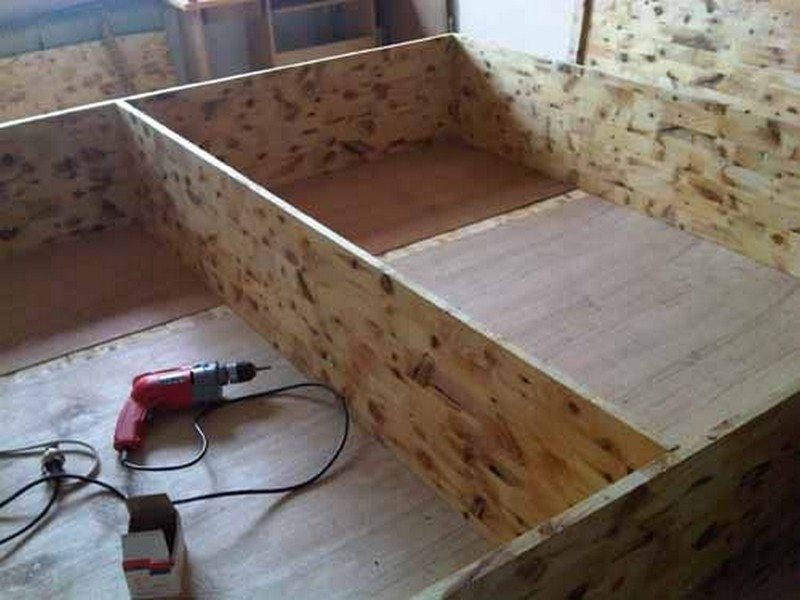 DIY Lift Top Storage Bed05