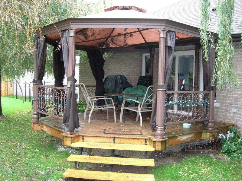 DIY Octagonal Deck 01