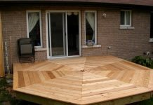 DIY Octagonal Deck