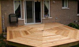 How to build an octagonal deck