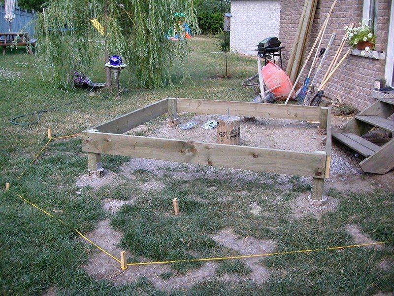 DIY Octagonal Deck 05