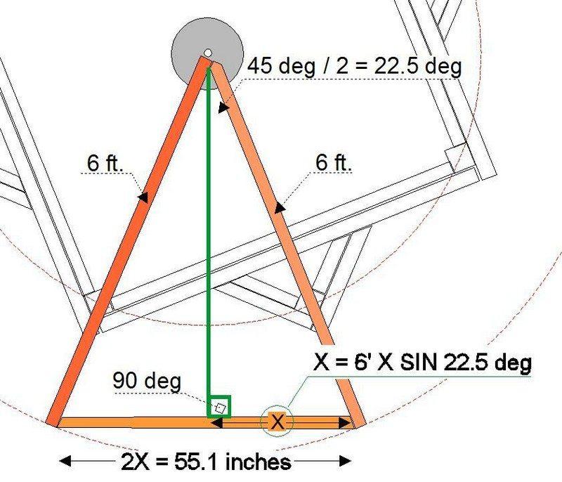 DIY Octagonal Deck 09