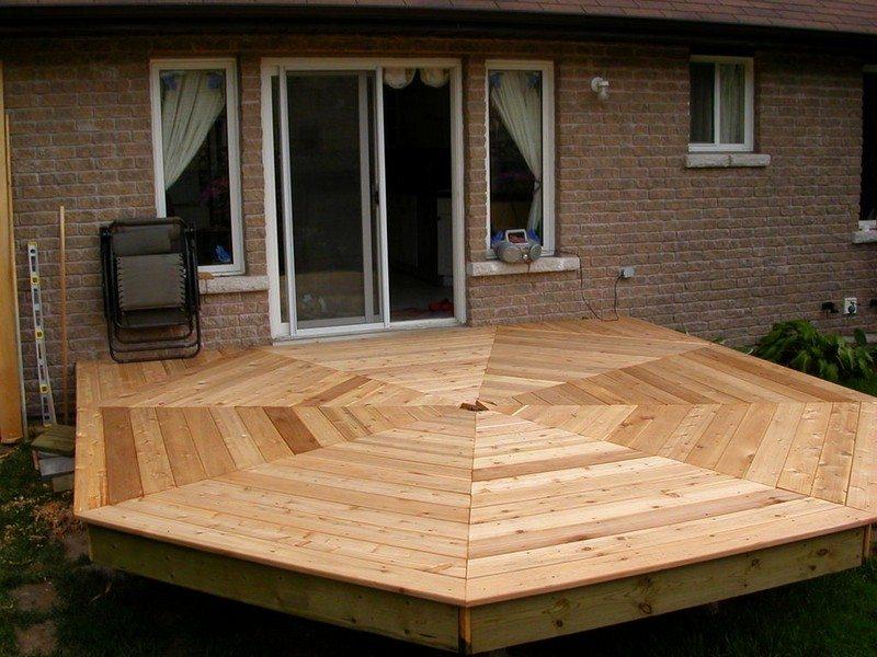 DIY Octagonal Deck 19