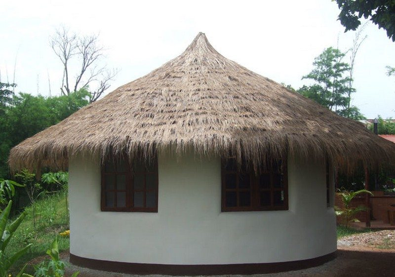 DIY Earthbag Round House