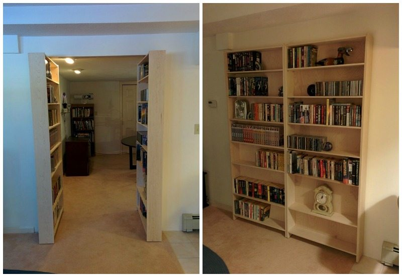 Hidden Bookcase Door Main