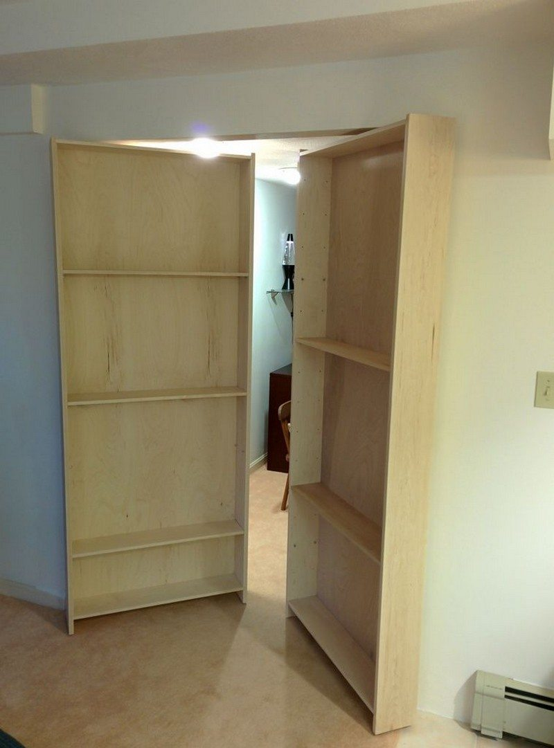 DIY Hidden Bookcase Door | DIY Projects For Everyone!