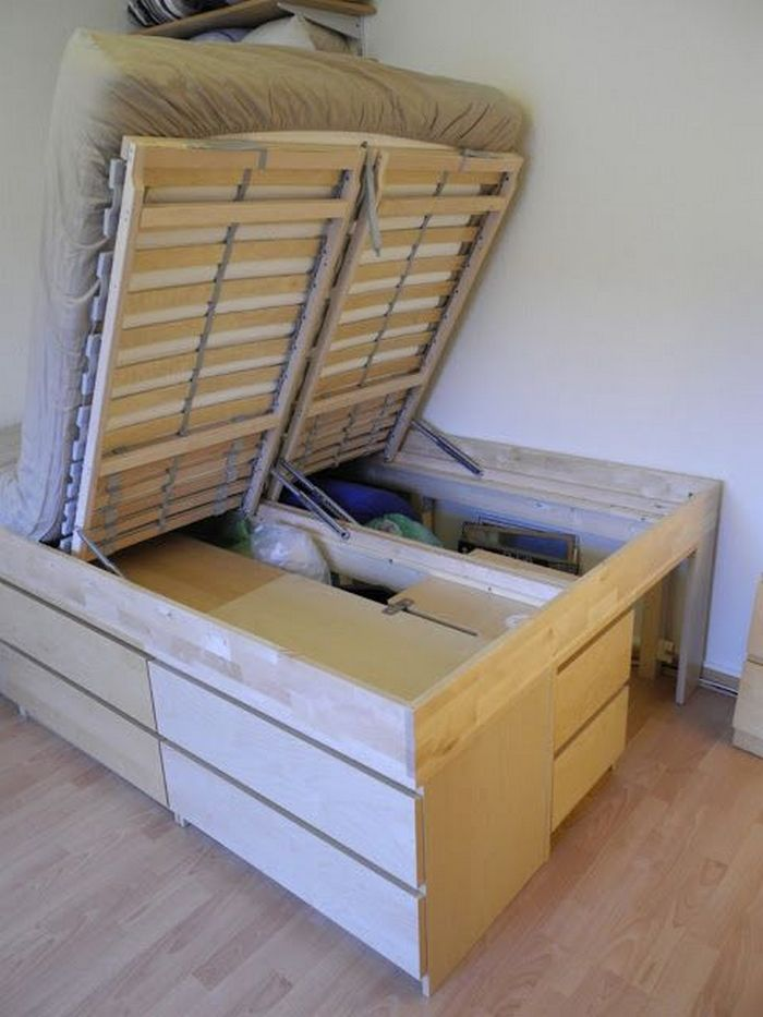 Lift Top Storage Bed   DIY projects for everyone!