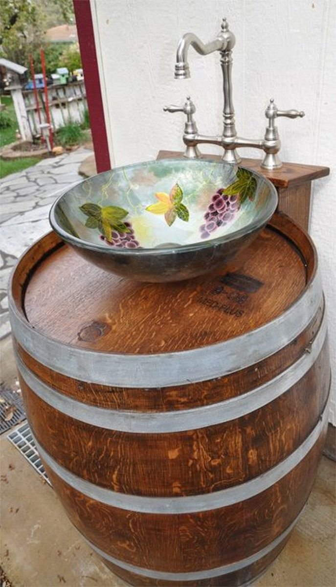 pinterest outdoor gardening sink exterior idea regarding drain sinks best garden kitchen
