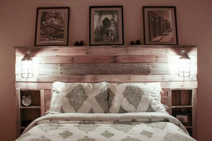 DIY Pallet Headboard | DIY projects for everyone!
