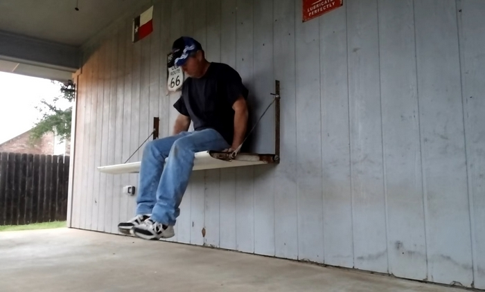 Tailgate Wall Bench