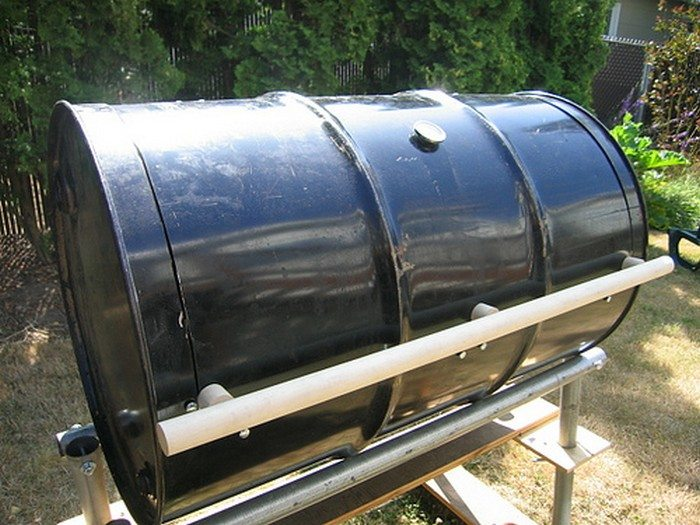 No-Weld BBQ Smoker
