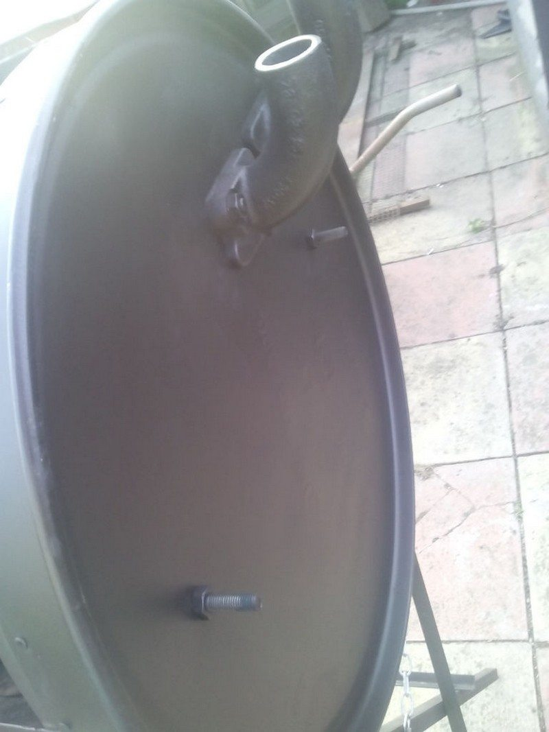 No-Weld Drum BBQ Smoker