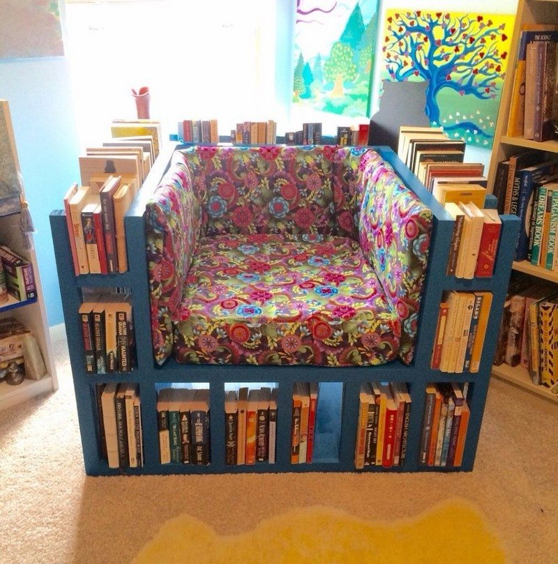 How to build a biblio chair