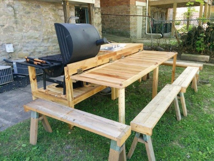 Upcycled Backyard Kitchen Diy Projects For Everyone