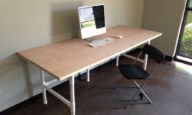 DIY 80 x 36″ PVC Table
