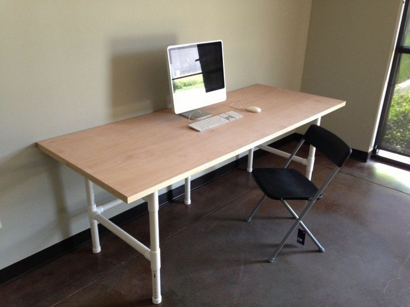 DIY 80 x 36″ PVC Table