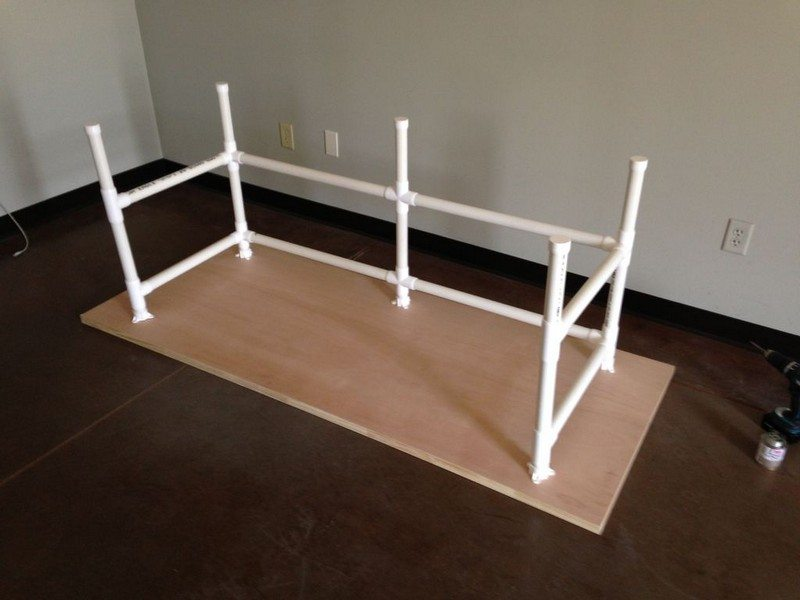 DIY PVC Table