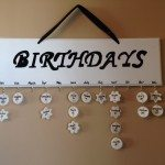 Hanging Birthday Calendar
