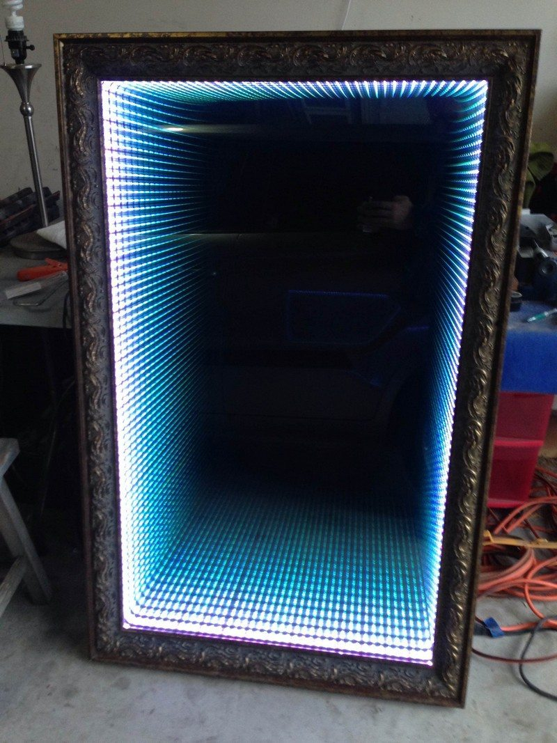 How to make an infinity LED mirror DIY projects for everyone! Page 2