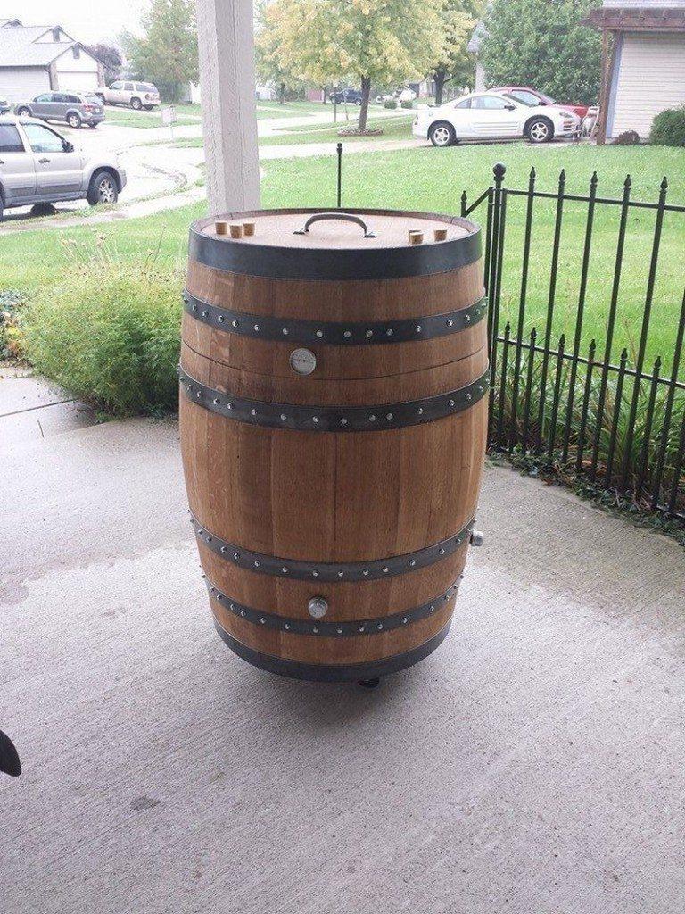 Whisky Barrel Smoker