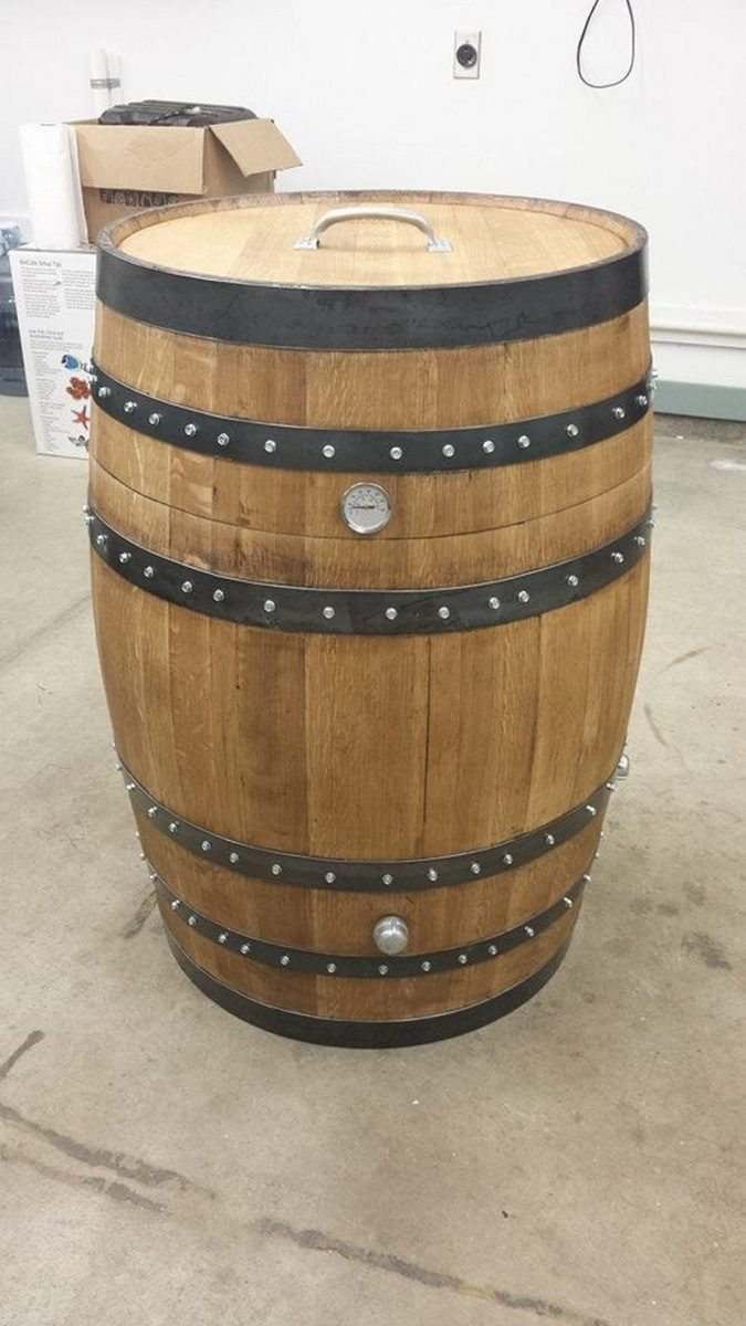 Whisky Barrel Smoker
