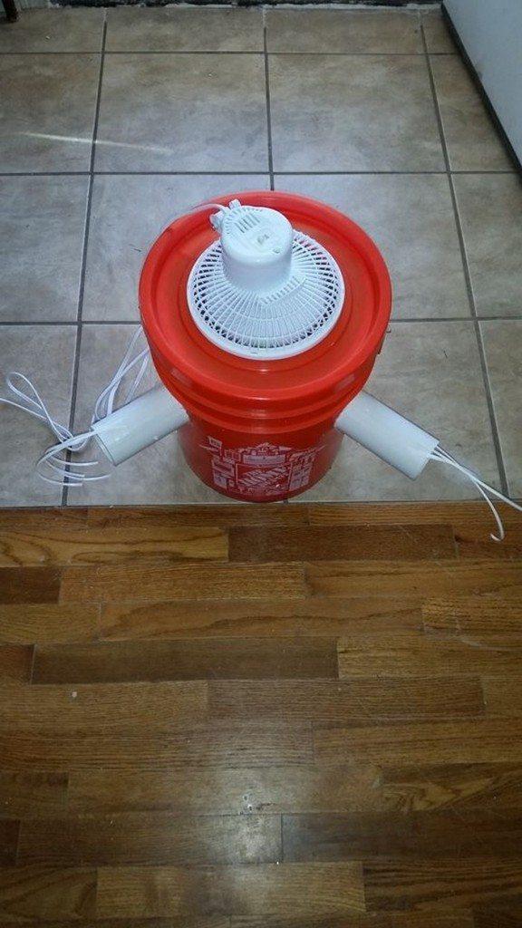 Gallon Bucket Air Conditioner Samples