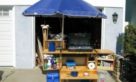 Build a portable camp kitchen for your next picnic or camping trip