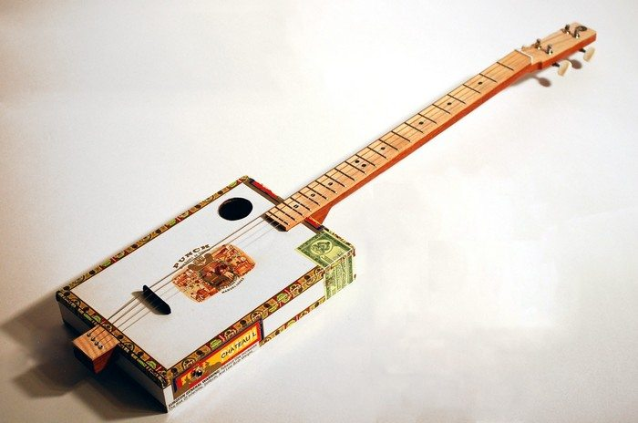 how to build a cigar box guitar diy projects for everyone. Black Bedroom Furniture Sets. Home Design Ideas