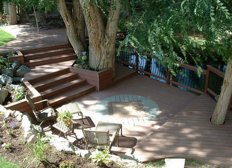 Using decking to turn steep, difficult terrain into the best spot on the block