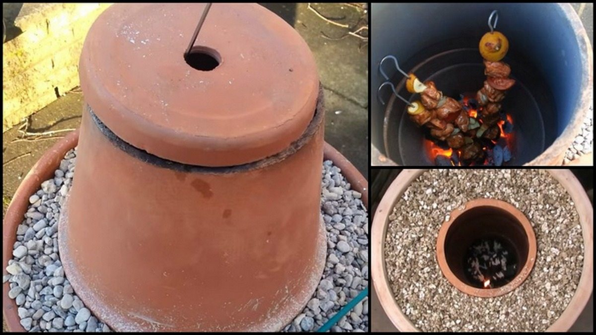 Make A Real Indian Tandoor Oven Out Of Terracotta Flower