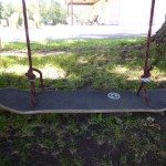 DIY Skateboard Swing