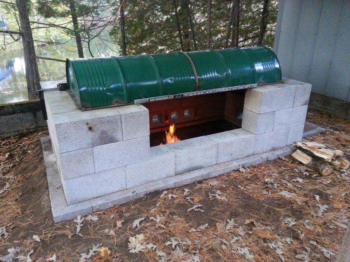 Rotisserie Pit BBQ
