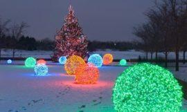 Make Your Own Christmas Light Balls